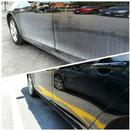 (before/after) paint sealant