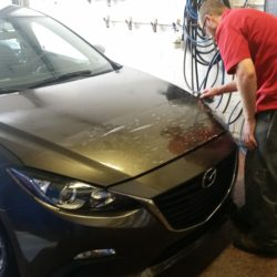 front portion application paint protection film