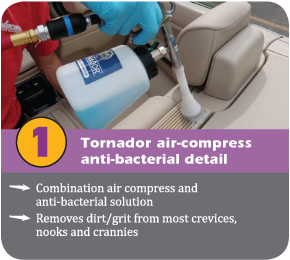 Tornador air compress detail tool